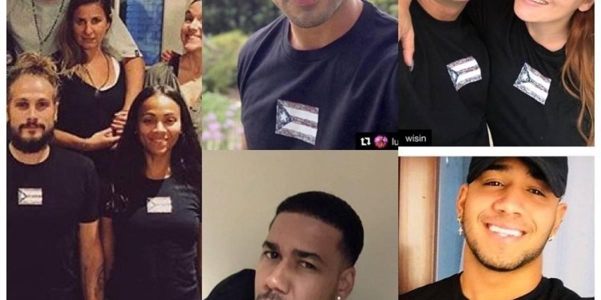 Varios artistas dominicanas compraron la camiseta de Ricky Martin para ayudar a Puerto Rico