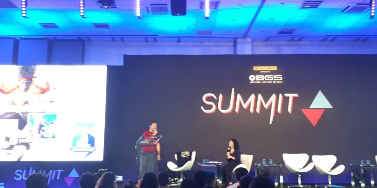 BGS Summit: 'Eu sei que vocês pirateavam Street Fighter', diz Yoshinori Ono