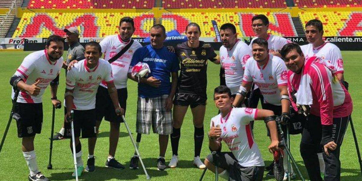 VIDEO: Morelia presume un partido con el equipo Nacional de Amputados
