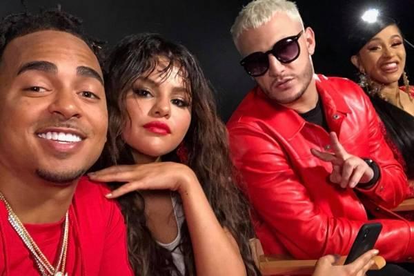Ozuna, Selena Gomez, DJ Snake y Cardi B