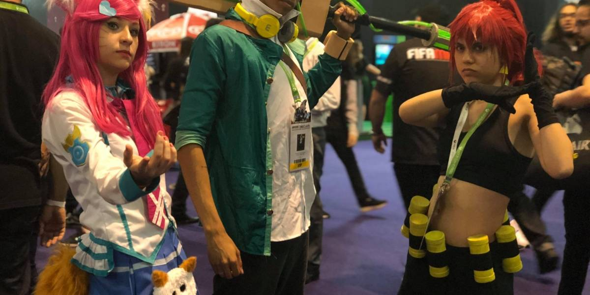 Veja looks de cosplayers no primeiro dia de Brasil Game Show 2018
