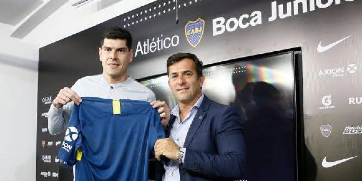 """La sinceridad de Carlos Lampe: """"No me gustaría irme de Boca sin jugar un partido"""""""