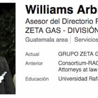 Abogado William Arbizú.