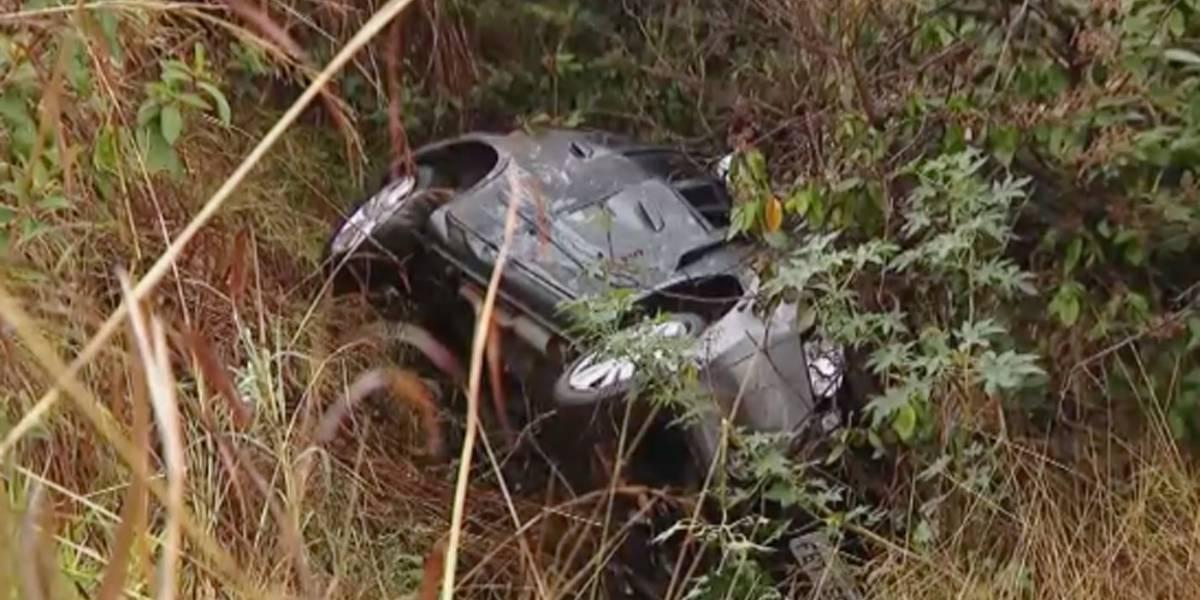 Na estrada há dois dias, menino de 6 anos pede socorro à caminhoneiro após acidente