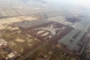 Equipo de AMLO recorre zona donde se construiría nuevo aeropuerto