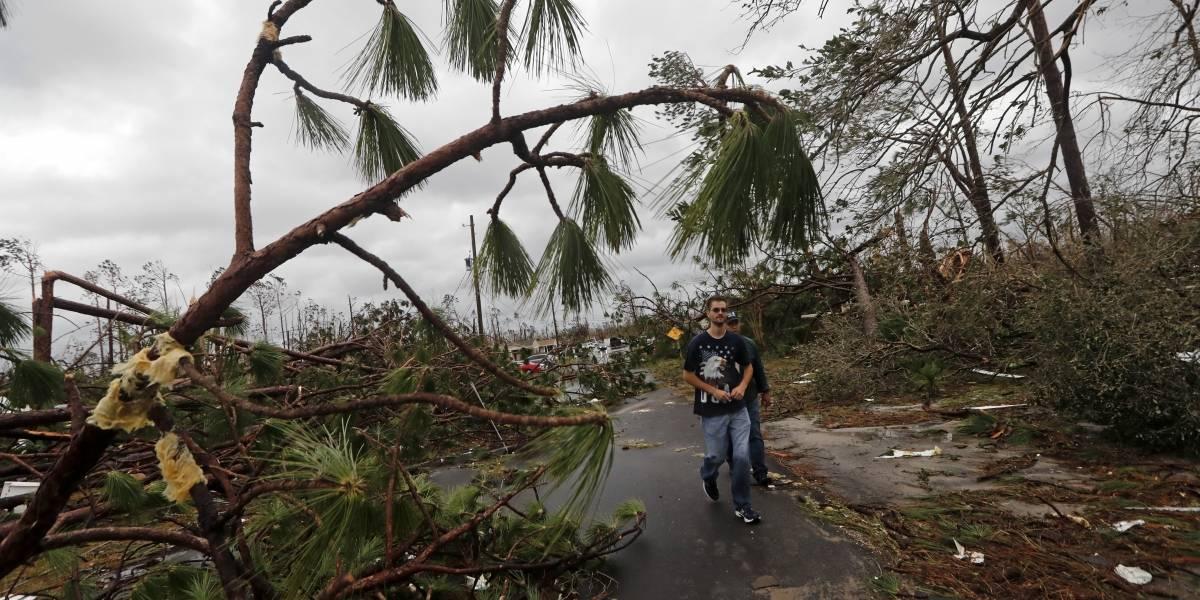 Michael llega a Georgia como huracán de categoría 3