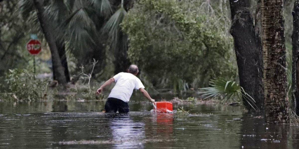 Reportan primera víctima mortal por Michael en Florida