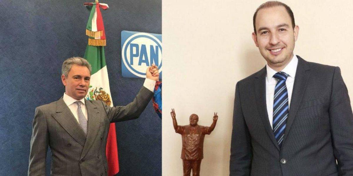 PAN aprueba candidaturas de Marko Cortés y Manuel Gómez