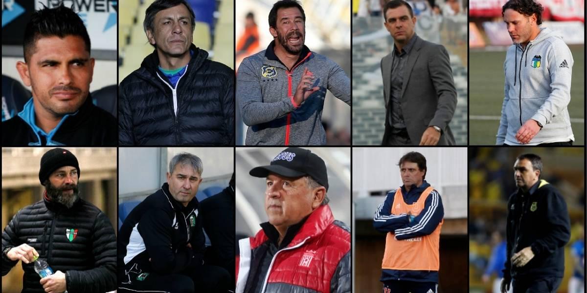 """La """"podadora"""" del Campeonato Nacional 2018 ya arrasó con 14 entrenadores en el fútbol chileno"""