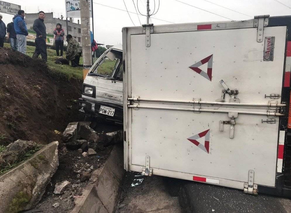 Accidente Panamericana Sur