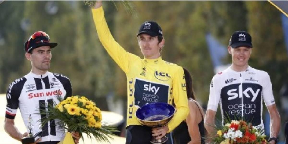 Robaron el trofeo del campeón del Tour de Francia