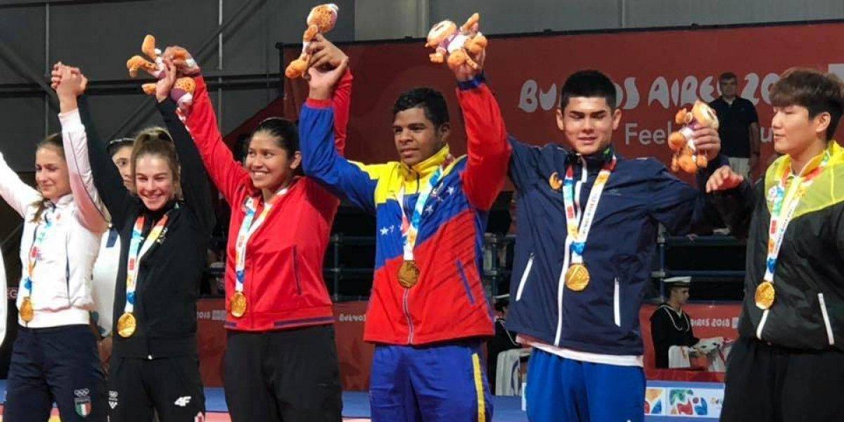 ¡Otro oro para México! Itzel Pecha conquista medalla en Judo en Buenos Aires 2018