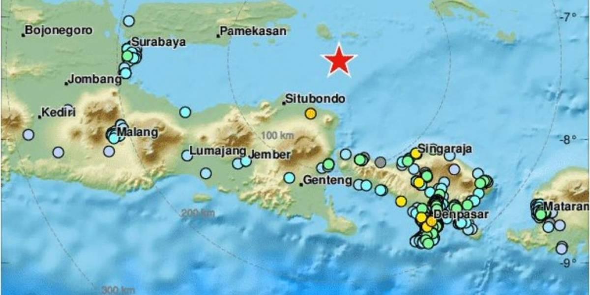 Se registra nuevo sismo en Indonesia de magnitud 6