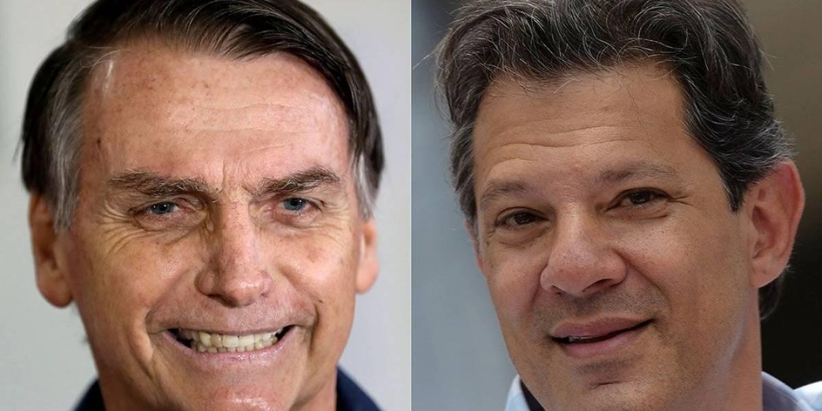 Bolsonaro impõe condições e diz que aceita debater com Haddad