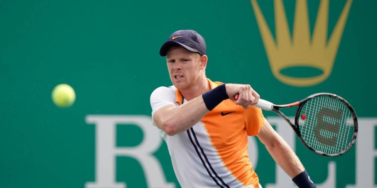 Kyle Edmund será el rival de Nicolás Jarry en la tercera ronda del Masters de Shanghai