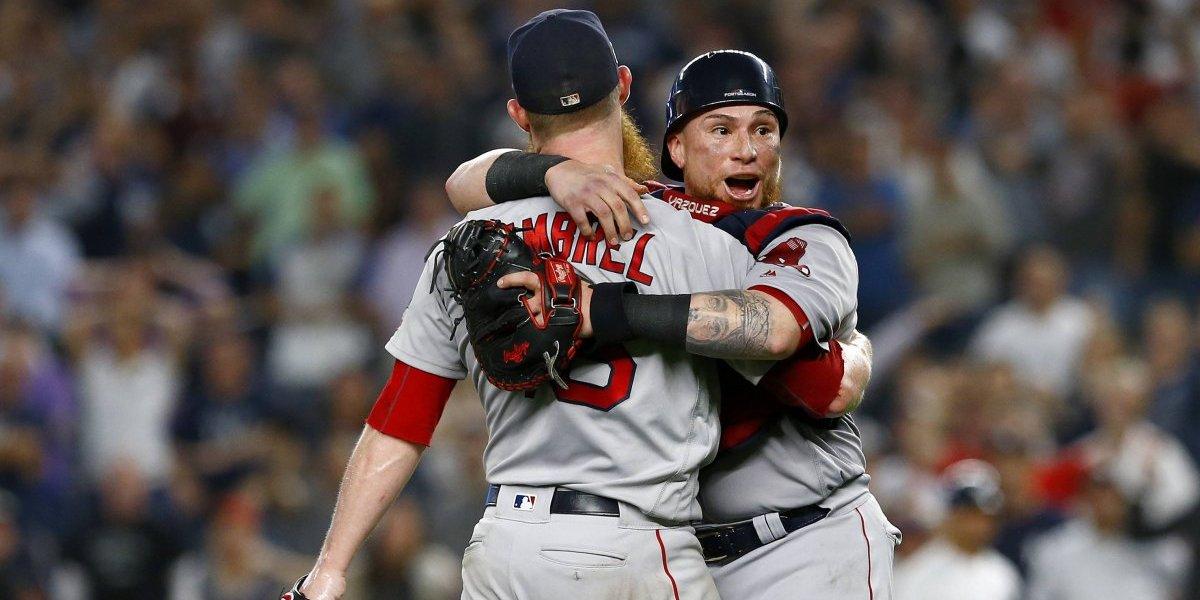 Red Sox elimina a Yankees y va por título de la Liga Americana