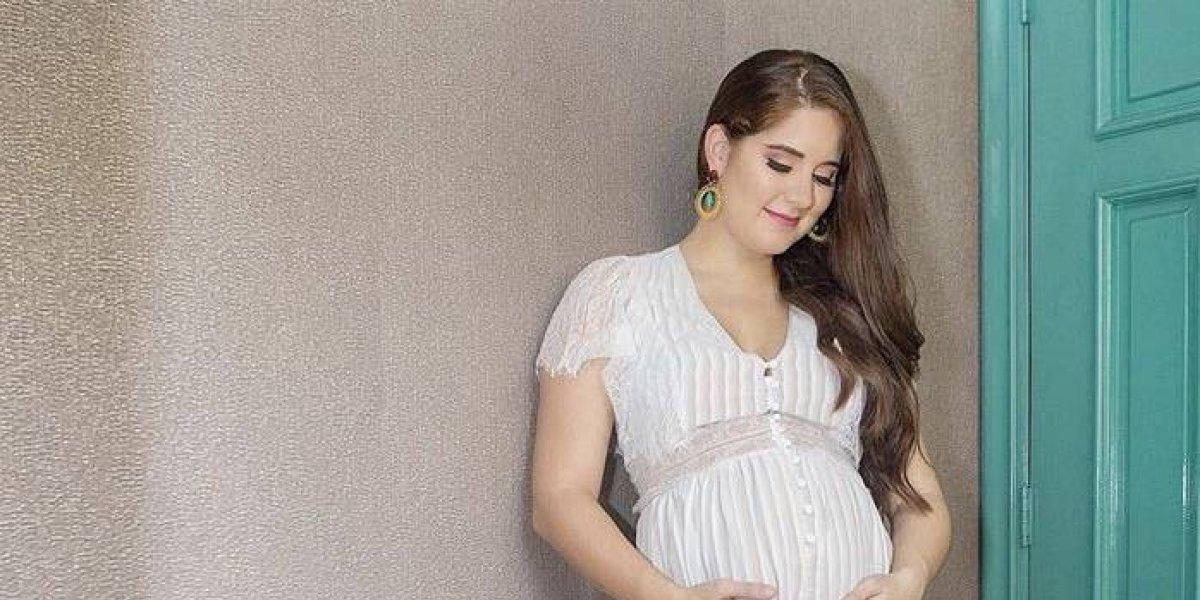 """Iamdra revela que """"Andrea"""" es el nombre de su hija que nacerá en 2019"""