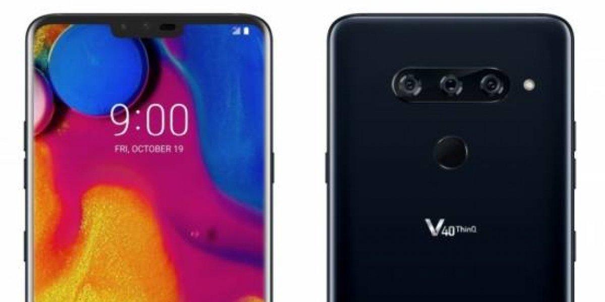 Sprint anuncia que el LG V40 ThinQ llegará el 19 de octubre