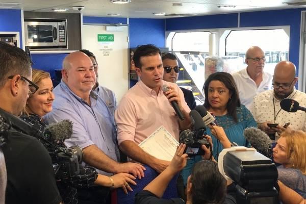 Entrenan nueva ruta marítima para Vieques y Culebra