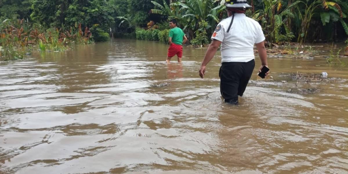 Fuertes lluvias dejan miles de afectados en Guatemala
