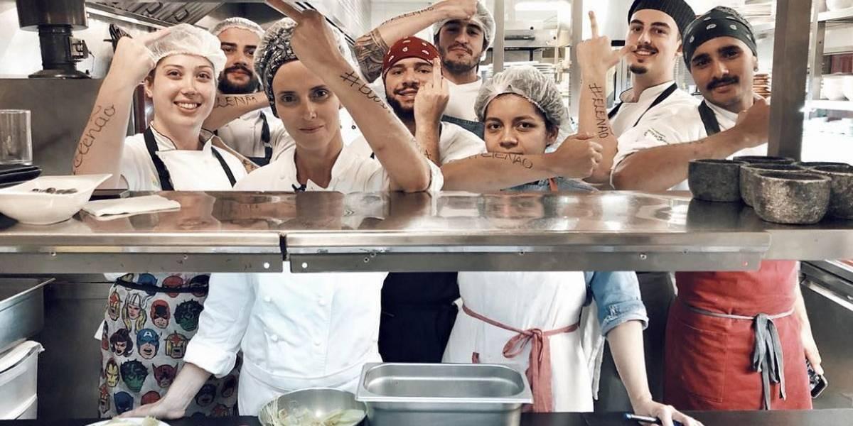 Post de chef vira palco de polarização política