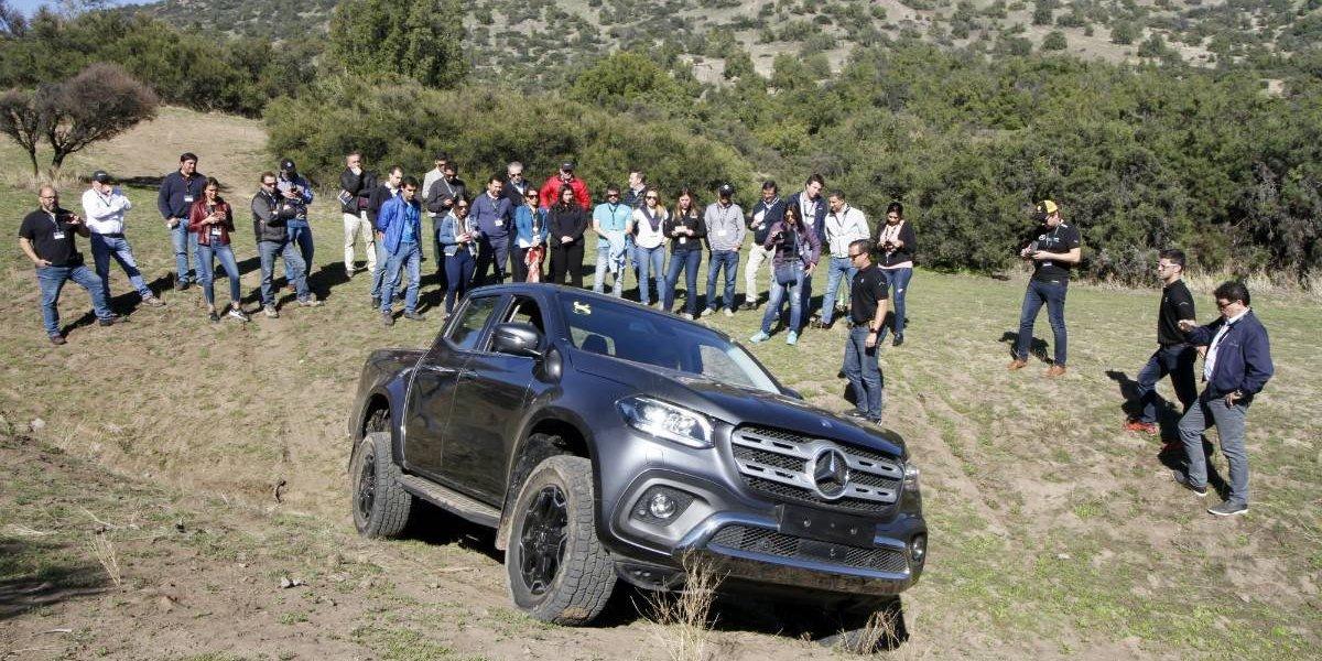 Mercedes-Benz se prepara para la llegada a Chile de la Clase X