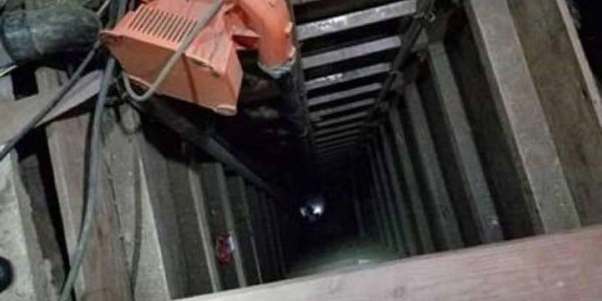 Hallan un túnel con energía solar en frontera EUA-México