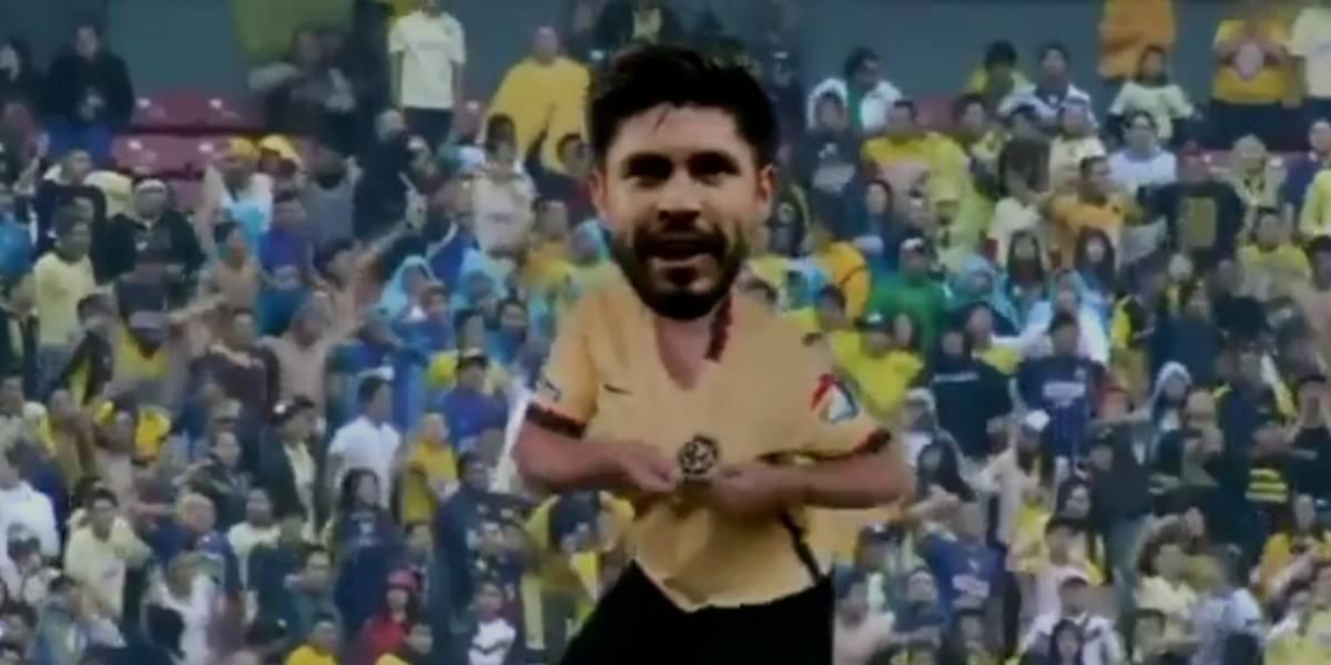 VIDEO: Afición compone una cumbia para Oribe Peralta