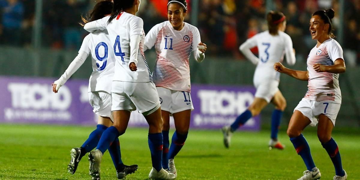 La Roja femenina logró un vibrante empate en amistoso contra Sudáfrica