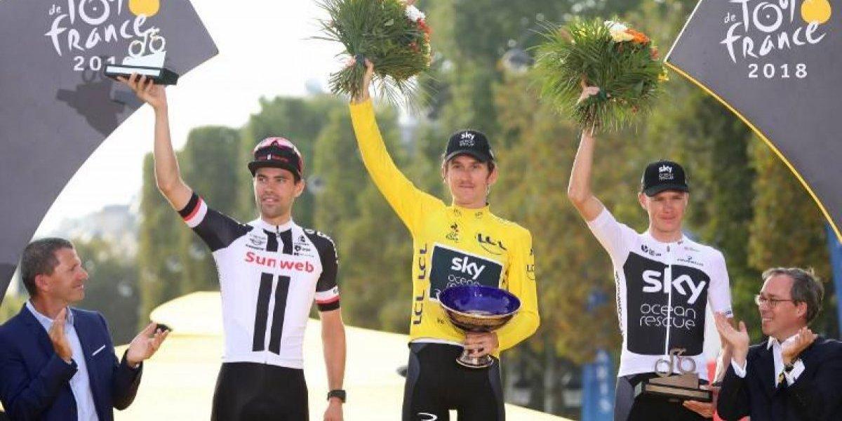Roban trofeo del campeón del Tour de Francia