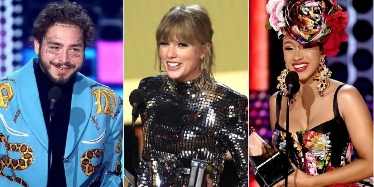 Lista de ganadores de los American Music Awards