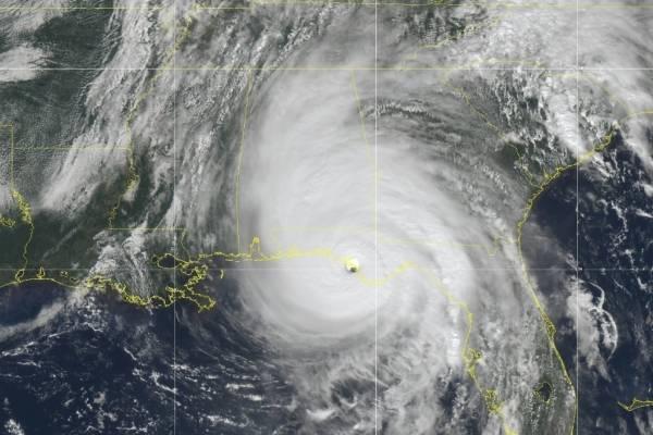 Huracán Michael por Florida