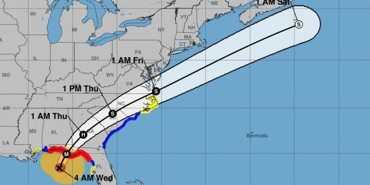 Florida se prepara para huracán Michael como categoría 4