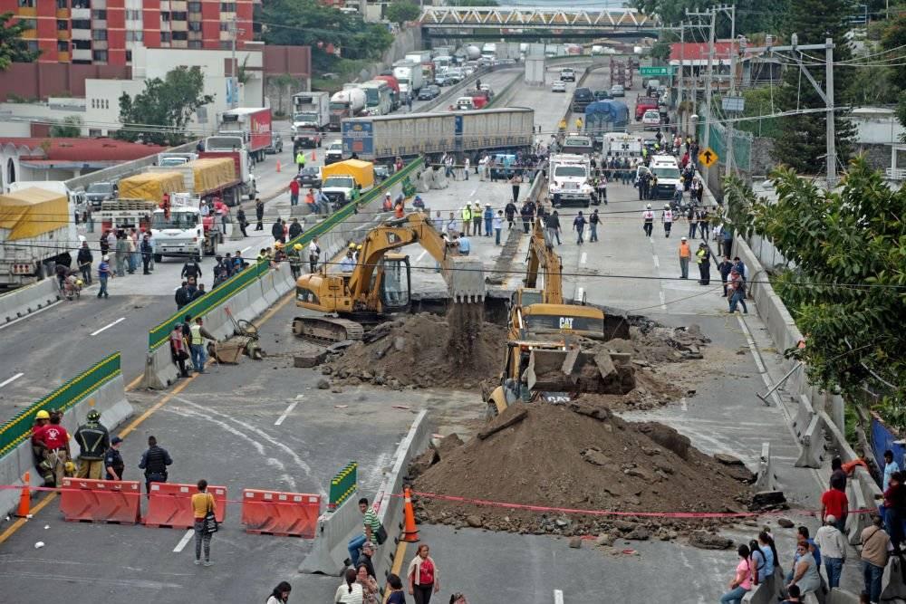 La CNDH también consideró que hubo varias irregularidades en la construcción de la vialidad Foto: Cuartoscuro