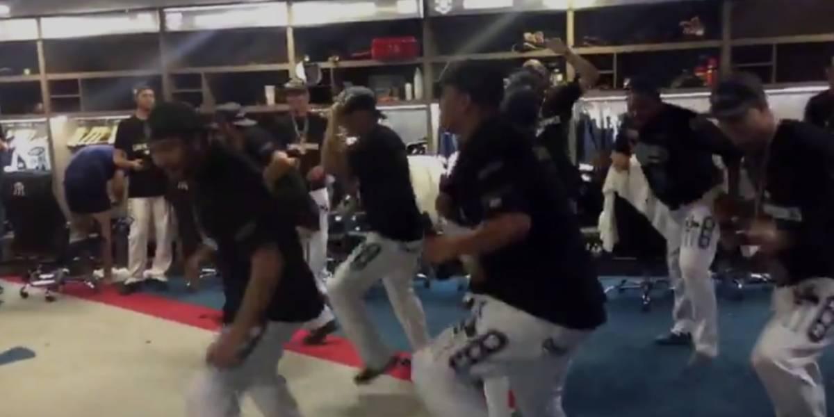 VIDEO: Sultanes baila el 'payaso del rodeo' tras conquistar título de la LMB