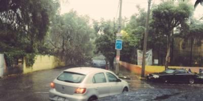 Inundación en Ticomán