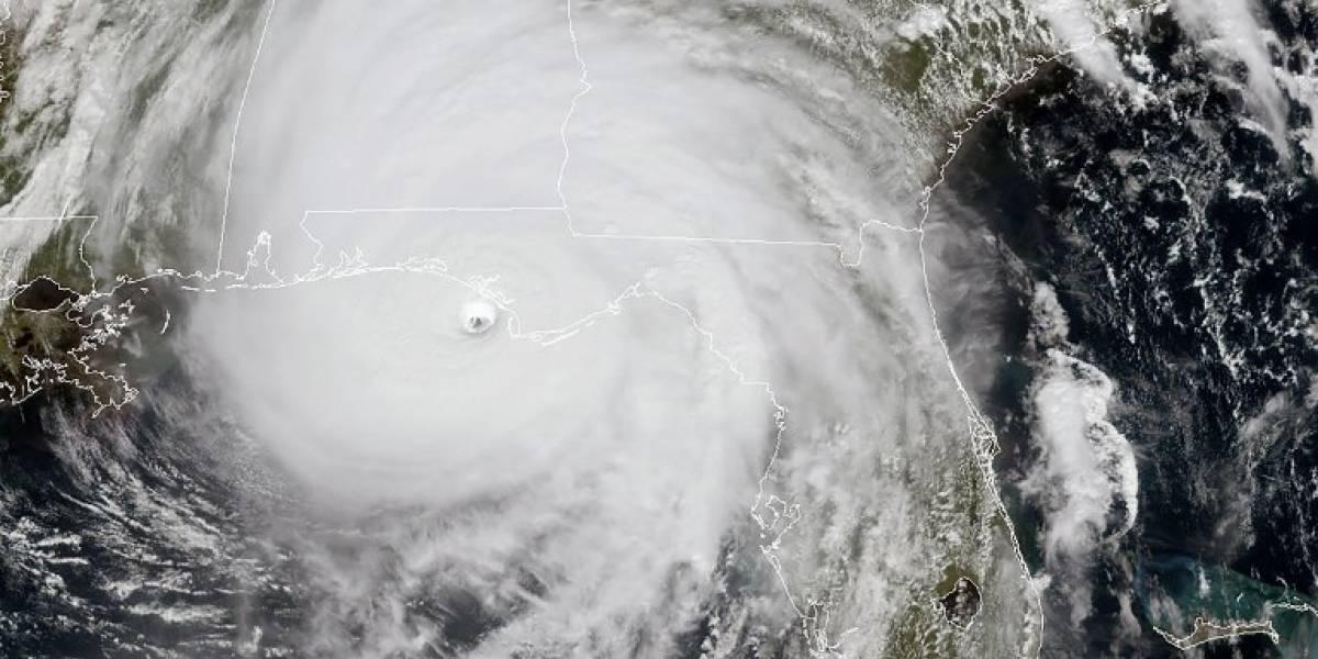 VIDEOS.Florida recibe el impacto del peligroso huracán Michael