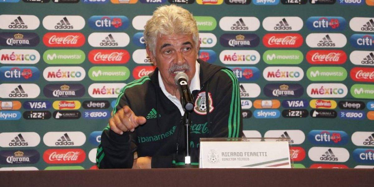 'Tuca' Ferretti dijo estar tranquilo tras no haberse quedado en el Tricolor