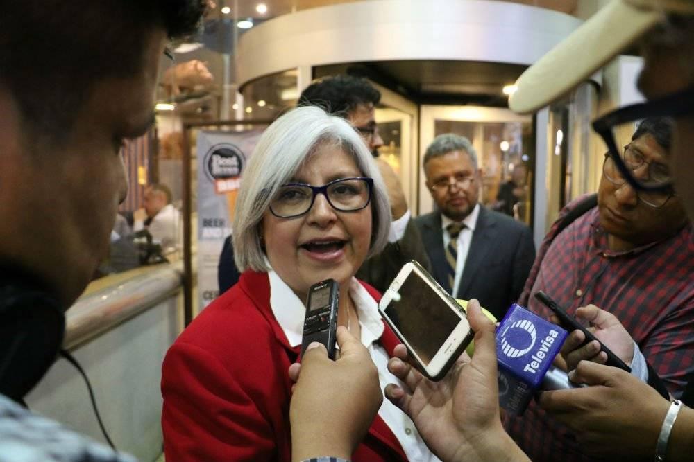 Graciela Márquez Colín, próxima secretaria de Economía Foto: Cuartoscuro