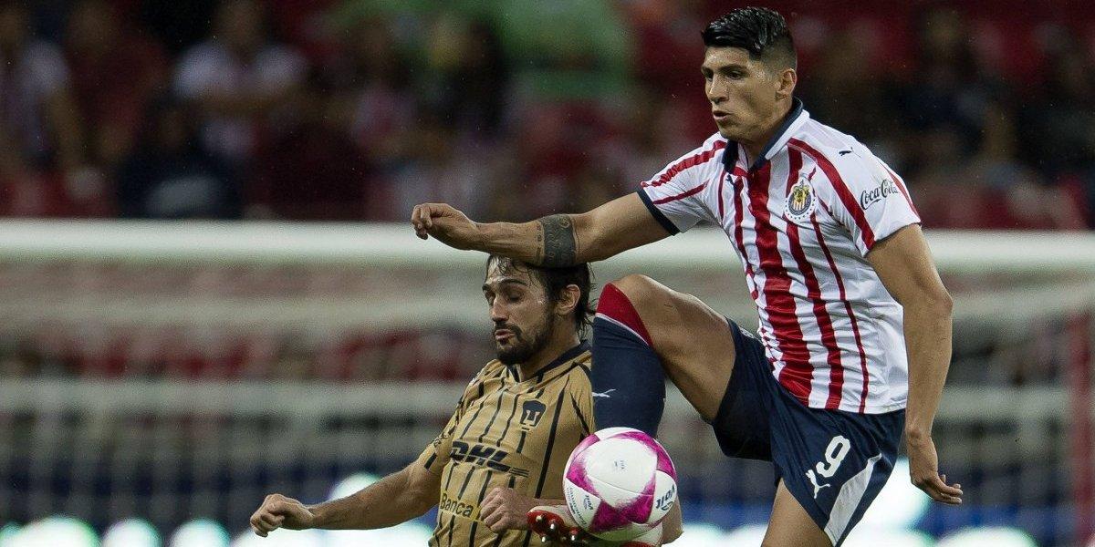 Chivas toma venganza sobre Pumas en partido amistoso