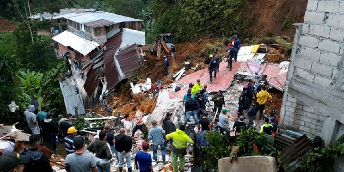 Asciende a 12 cifra de muertos por tragedia en Marquetalia, Caldas