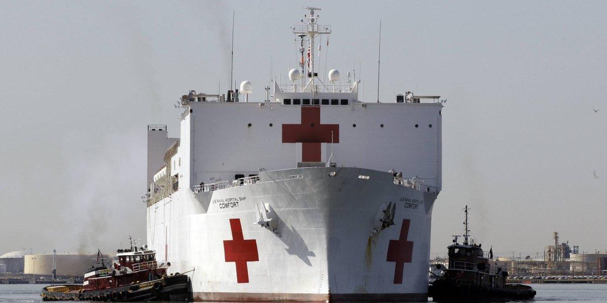 Posee más de mil habitaciones para pacientes: así es el colosal buque hospital USNS Comfort que atenderá a venezolanos