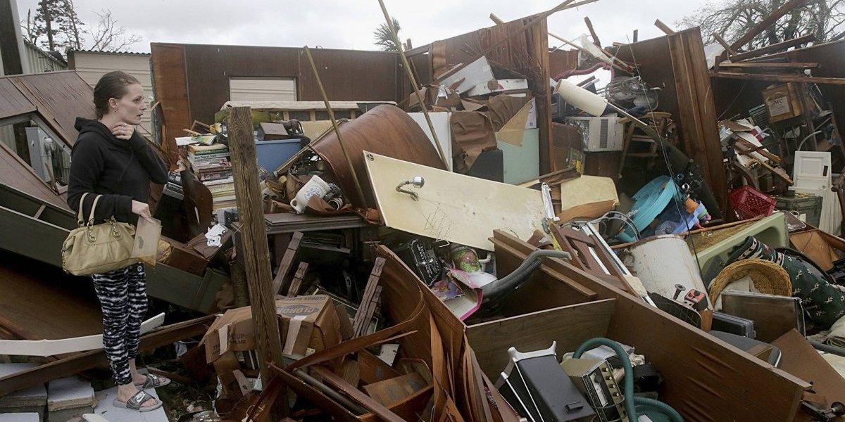 """""""Como si una bomba atómica hubiese caído"""": los rastros de devastación que dejó el huracán Michael a su paso"""