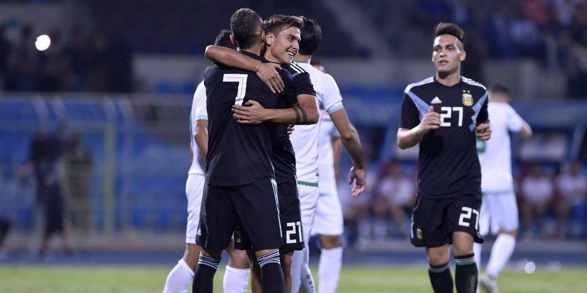 La Argentina sin Messi sigue teniendo buenos resultados y ahora se prepara para el examen con Brasil