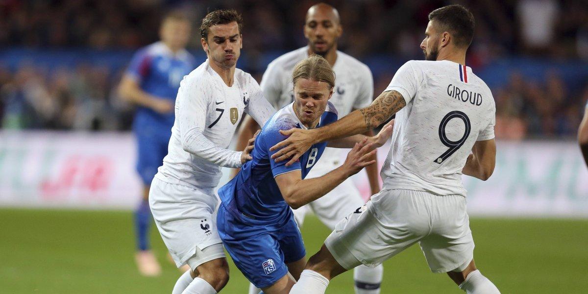 El campeón del mundo Francia evita un papelón al rescatar agónico empate ante Islandia