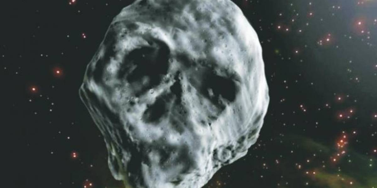 Asteroide con forma de calavera se acercará a la Tierra en Halloween