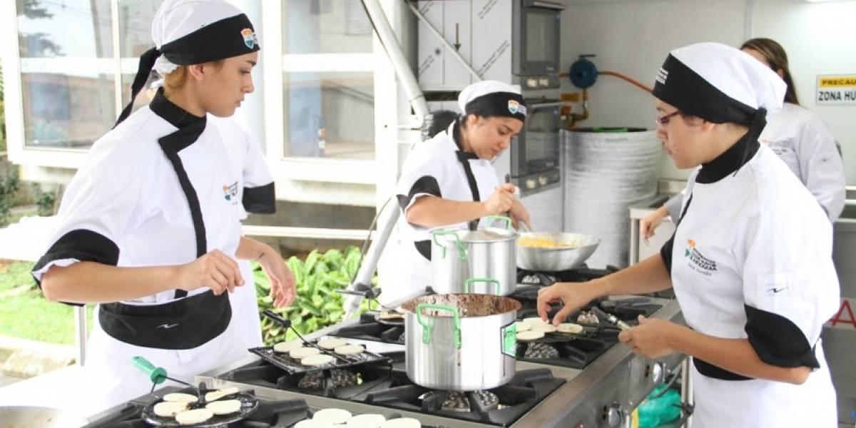 En Medellín el aula móvil Gastronómica llegará a las comunas más alejadas de la ciudad