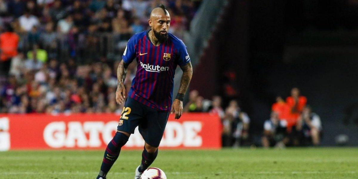 """Leyenda del Barça defiende la actitud de Vidal: """"Tiene un perfil distinto al resto de los jugadores del club"""""""