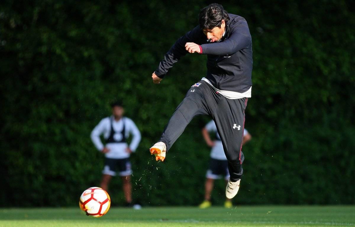 Valdés se prepara para partir de Colo Colo / imagen: Agencia UNO