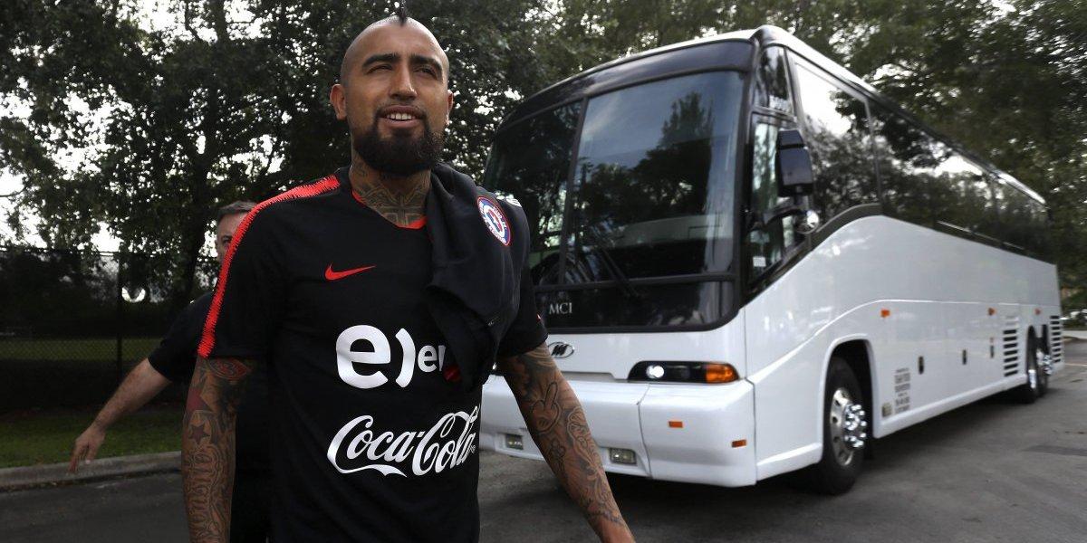 """Arturo Vidal le bajó el perfil al """"caso sapo"""" en la Roja: """"Nadie puede decirle al entrenador que llame a un jugador"""""""